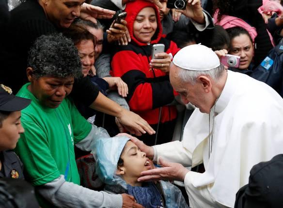 Pope Francis Favela WYD